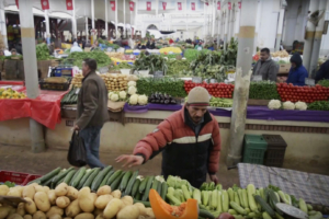 Vegetables seller – Tunis