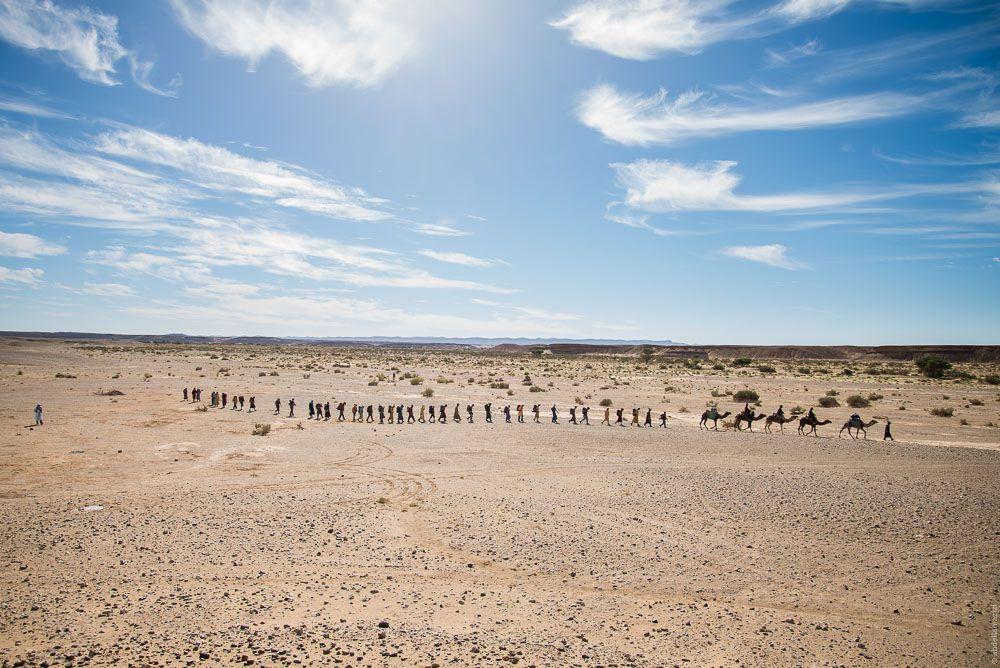 Ici dans desert by abdellah azizi