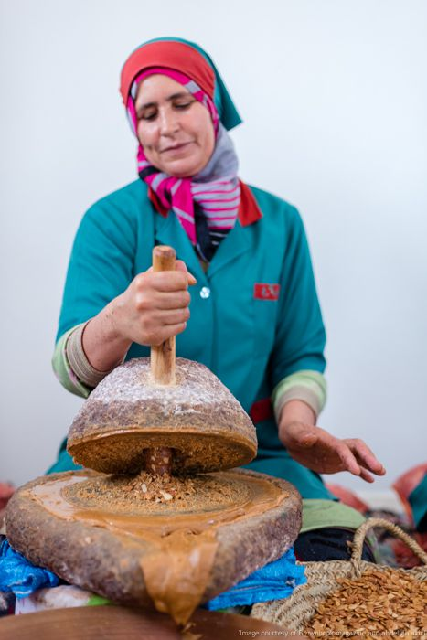 Argan making by abdellah azizi