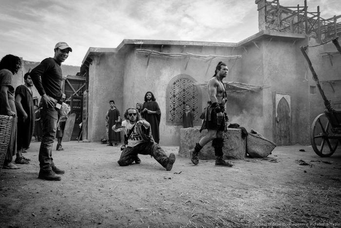 Hercules Reborn - backstage by abdellah azizi