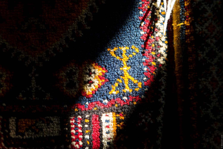 Ouazguiti carpet by abdellah azizi