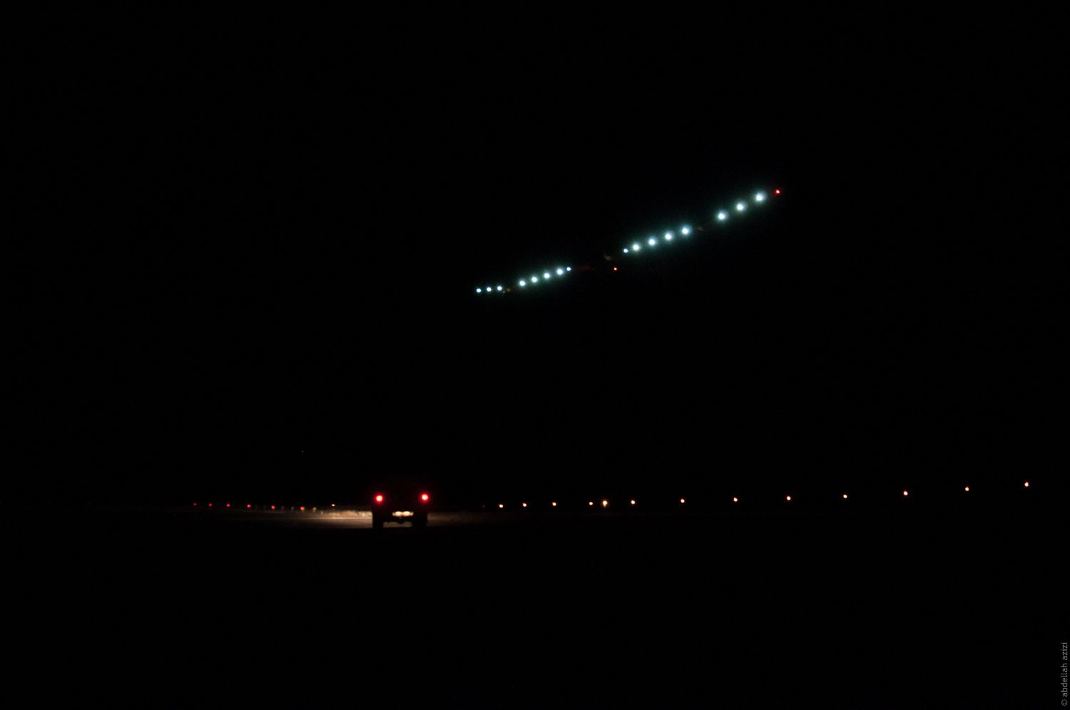 Solar Impulse Landing in Ouarzazate