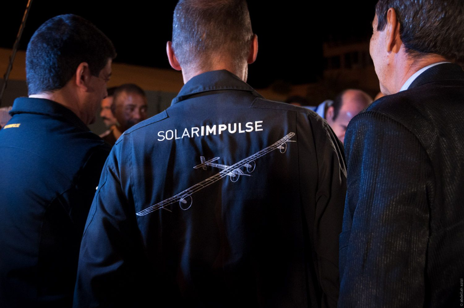 Solar Impulse in Ouarzazate