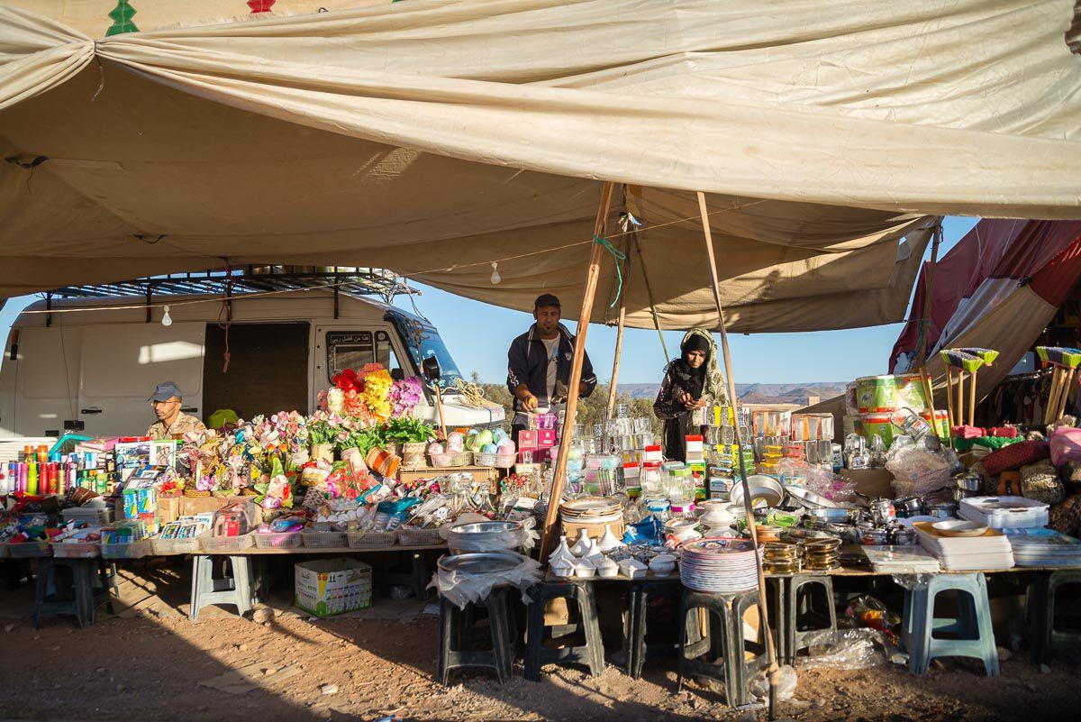 Roses festival's Souk