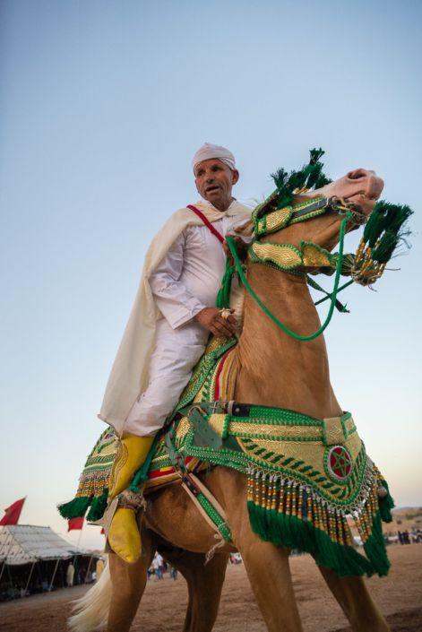 Moroccan fantasia - festival des roses 2015