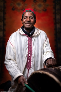 Portrait Ahwach Man