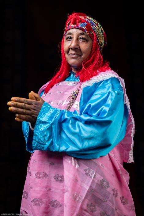 Portrait Ahwach Woman