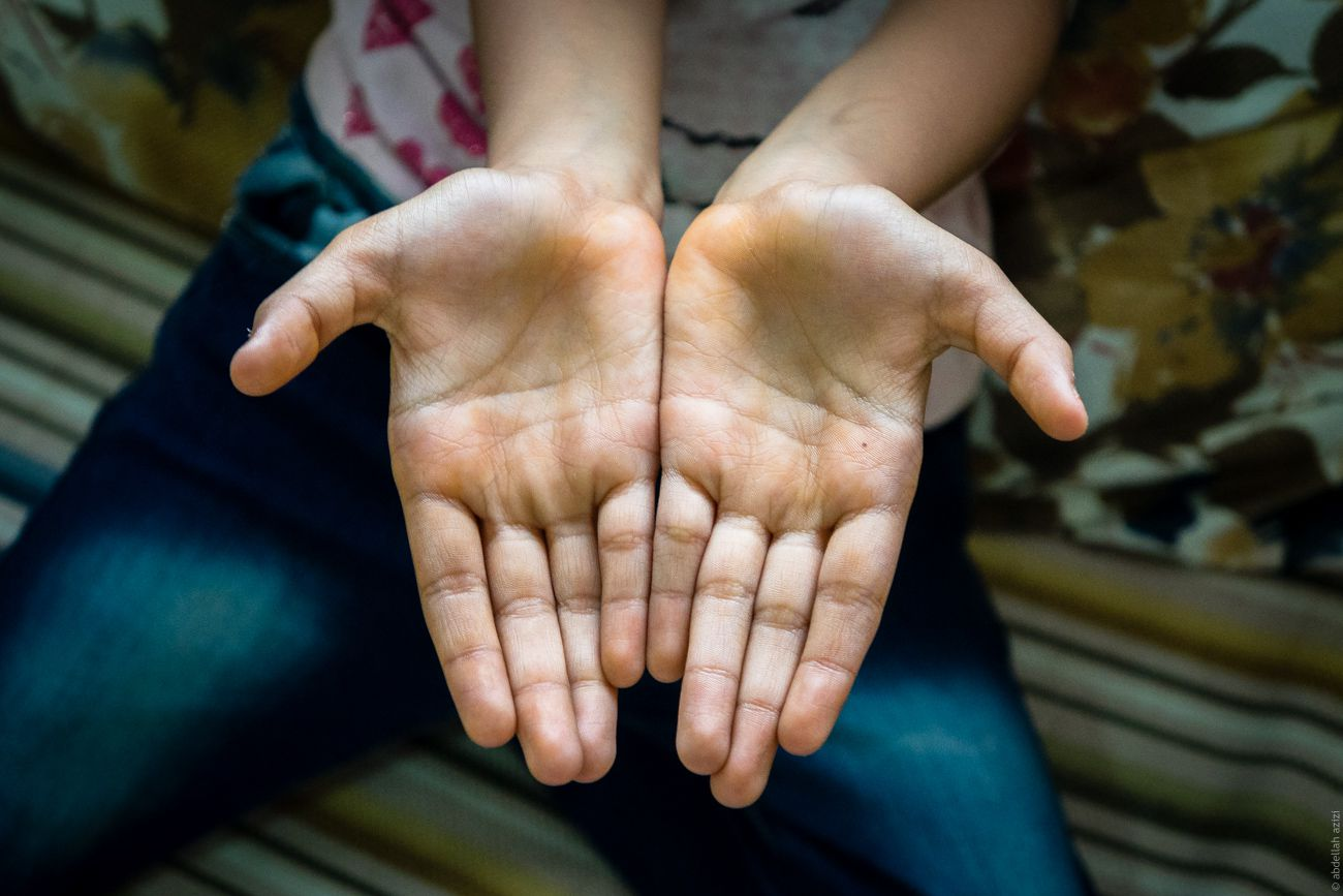moroccan hands project by abdellah azizi