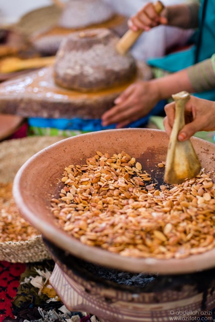 Rosting Aragn nuts
