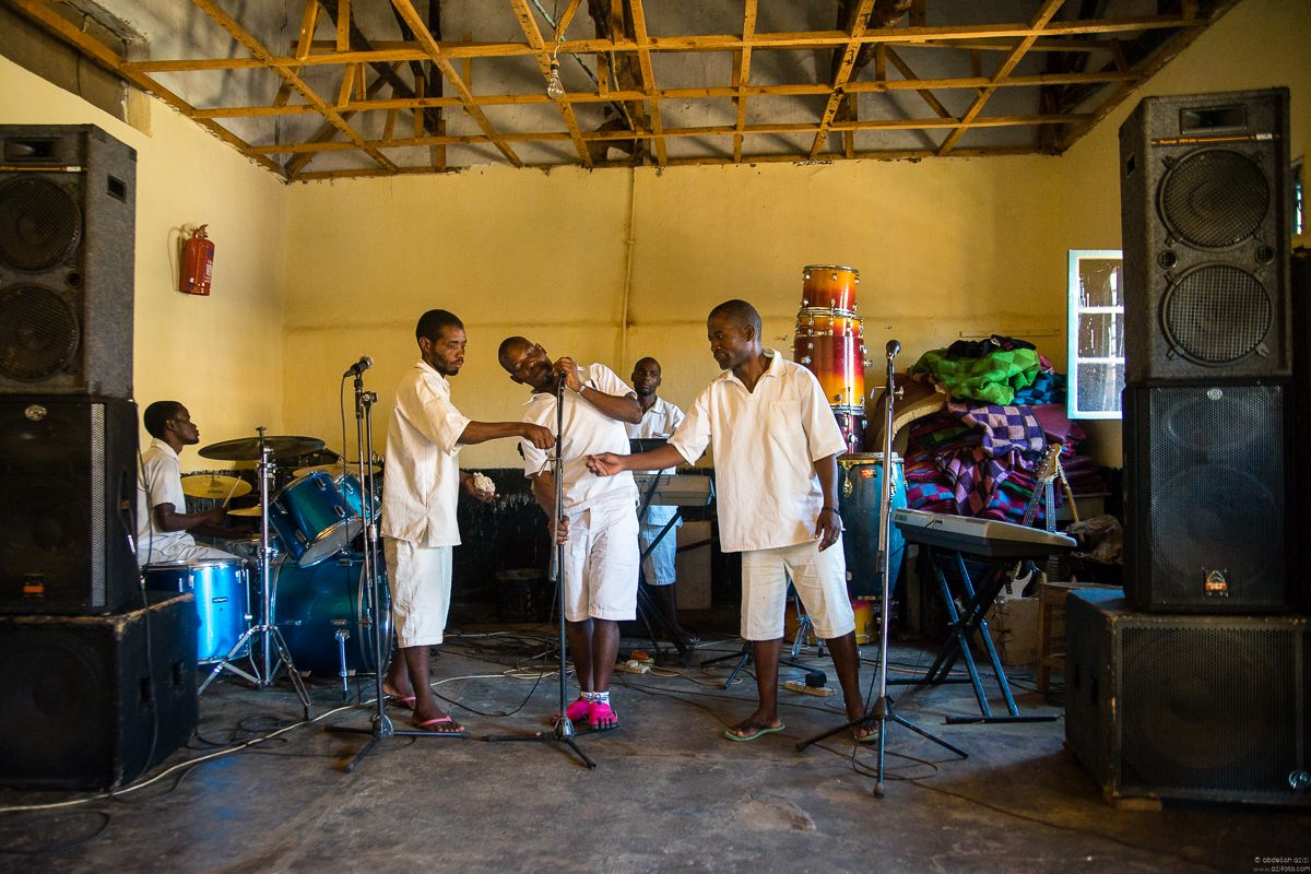 Zomba prison music band project, Malawi by abdellah azizi