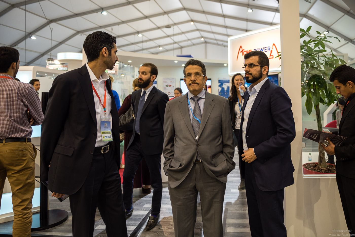 Mohammad Abunayyan is Chairman of Abunayyan Holding and ACWA Power International at COP22