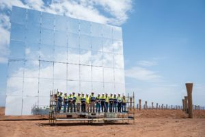 Abunayyan at Ouarzazate Solar Power Station