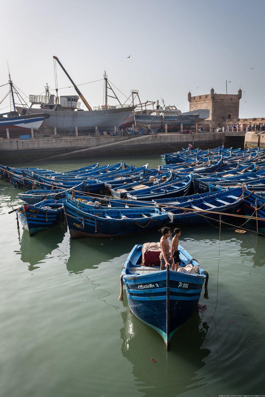 Port, Essaouira, Morocco