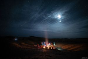 Rencontre de soi dans le désert