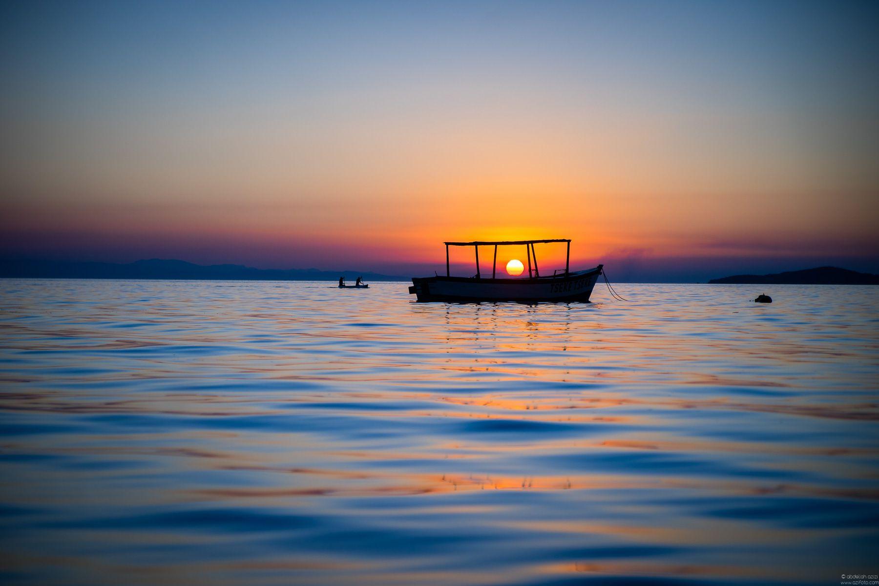 Sunset, Lake Malawi