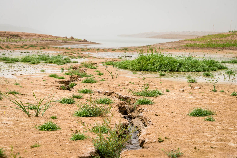 dry ouarzazate lake