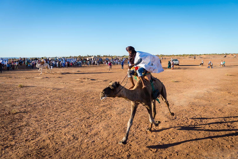 Riding camel, Taragalte Festival 2017
