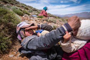 Karima and Noura - Ait Atta Nomads