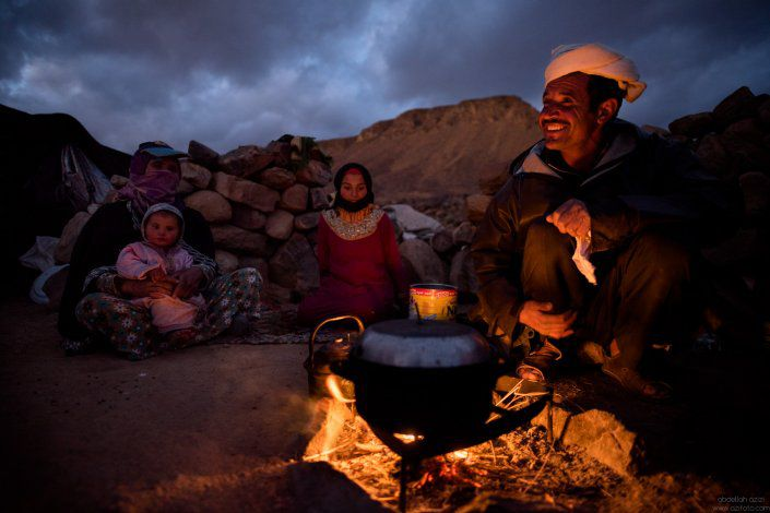Dinner time - Ait Atta Nomads - Arhal project