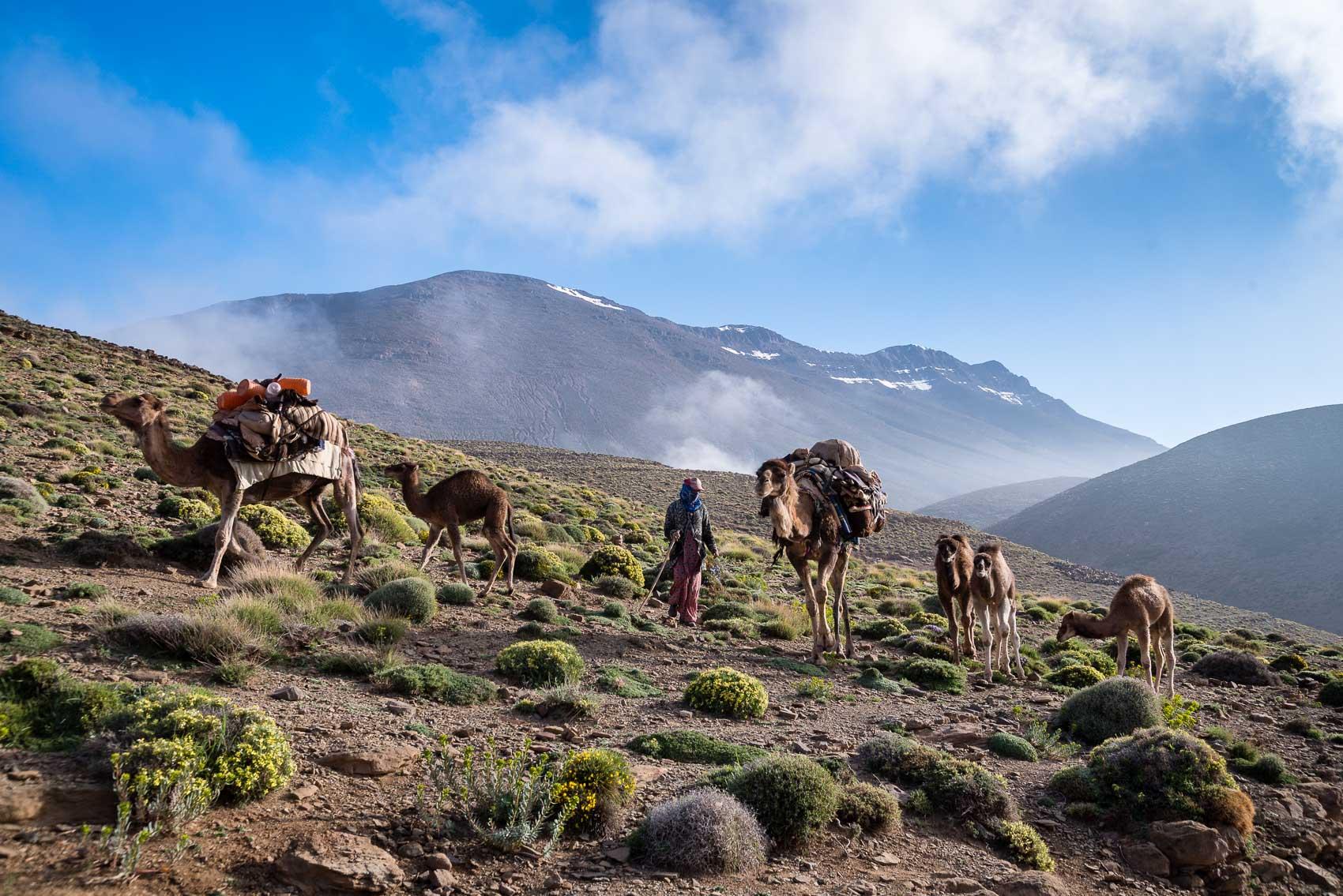 Ait Atta nomads, Morocco