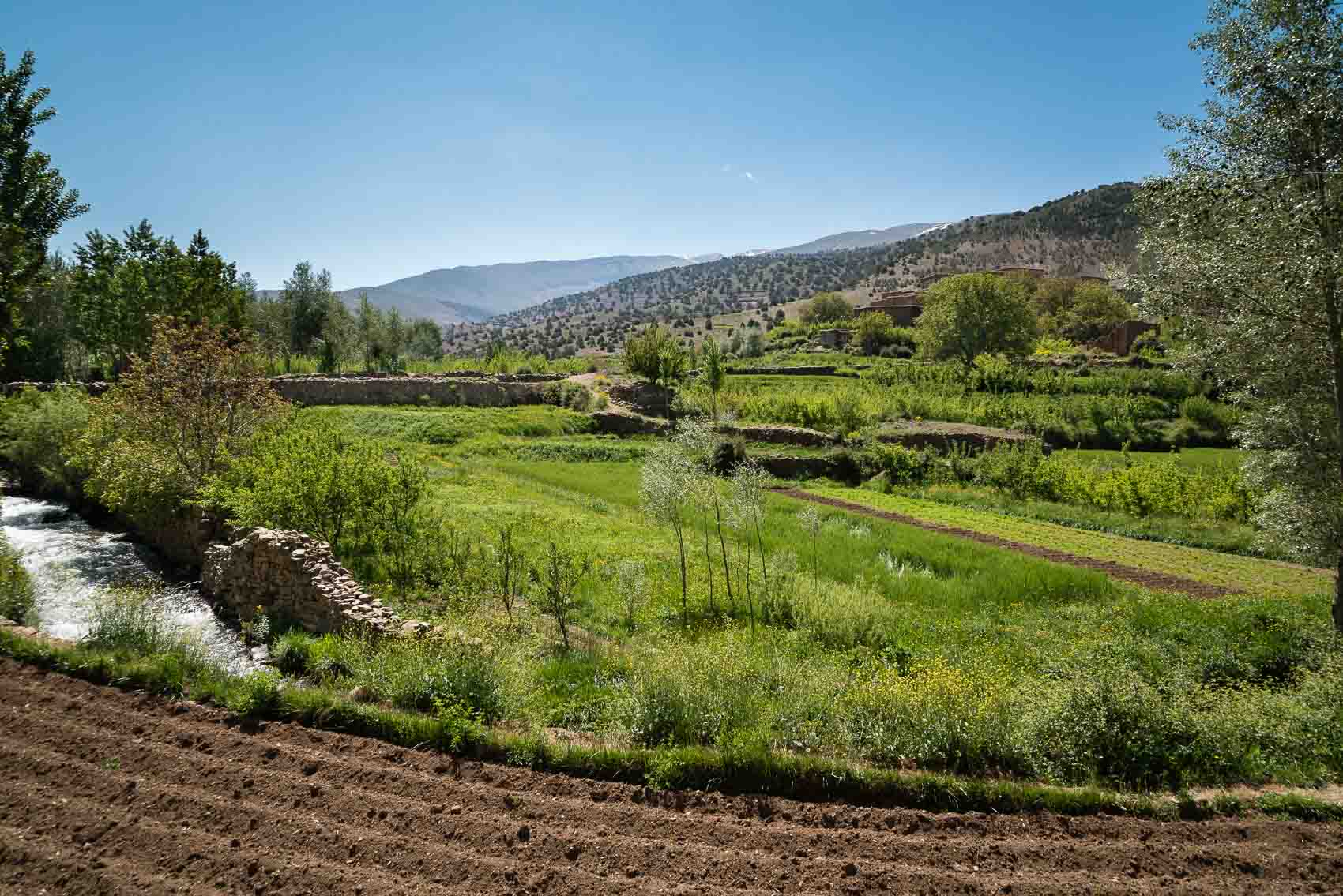 Ait Bougmez - The happy valley at spring