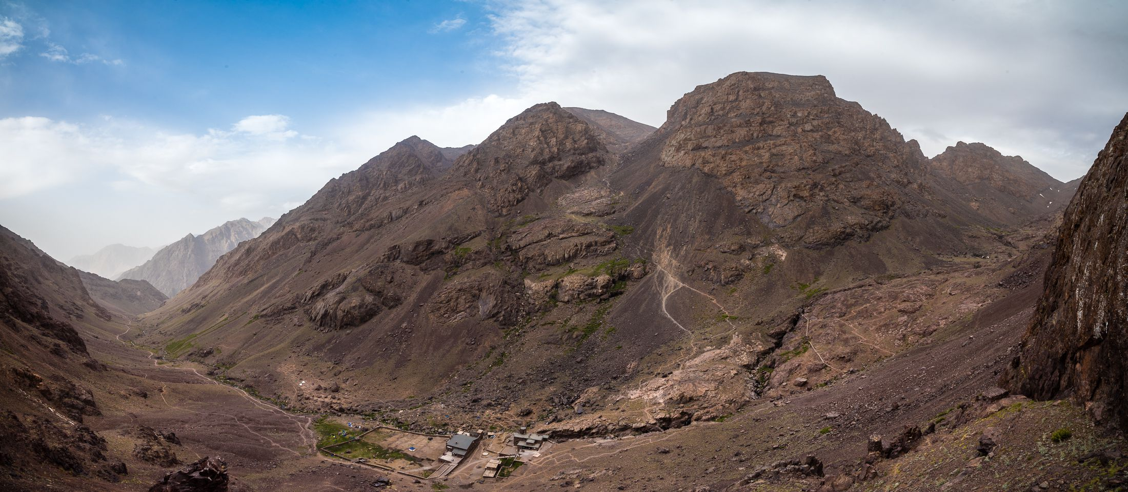 The way to Djebel Toubkal - Morocco