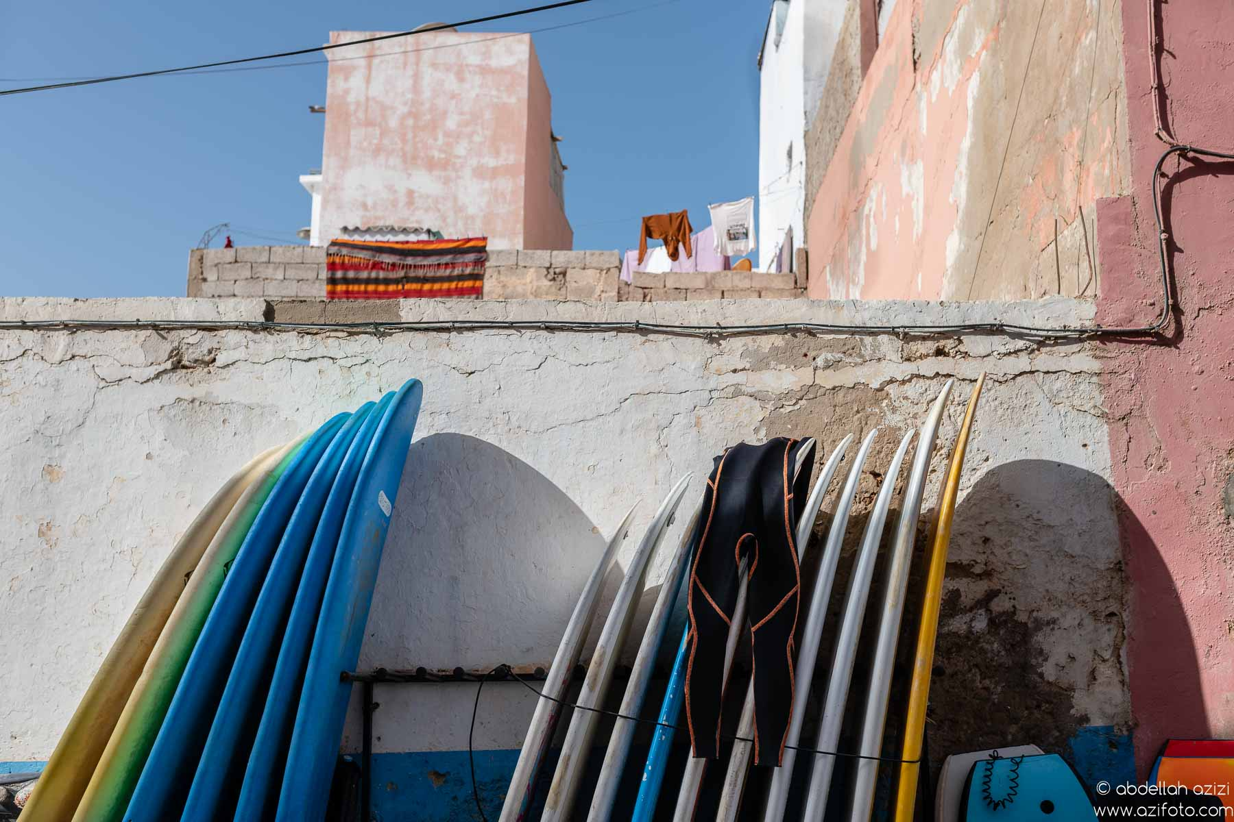 Taghazout village, Morocco