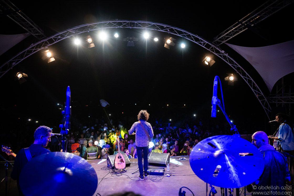 Back stage Taragalte Festival, Mhamid, Morocco