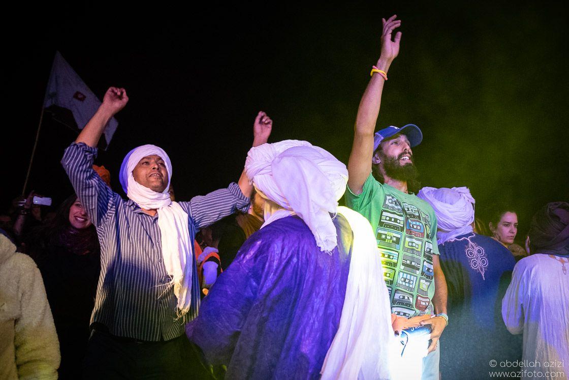 Halim Sbai Dancing Taragalte Festival, Mhamid, Morocco