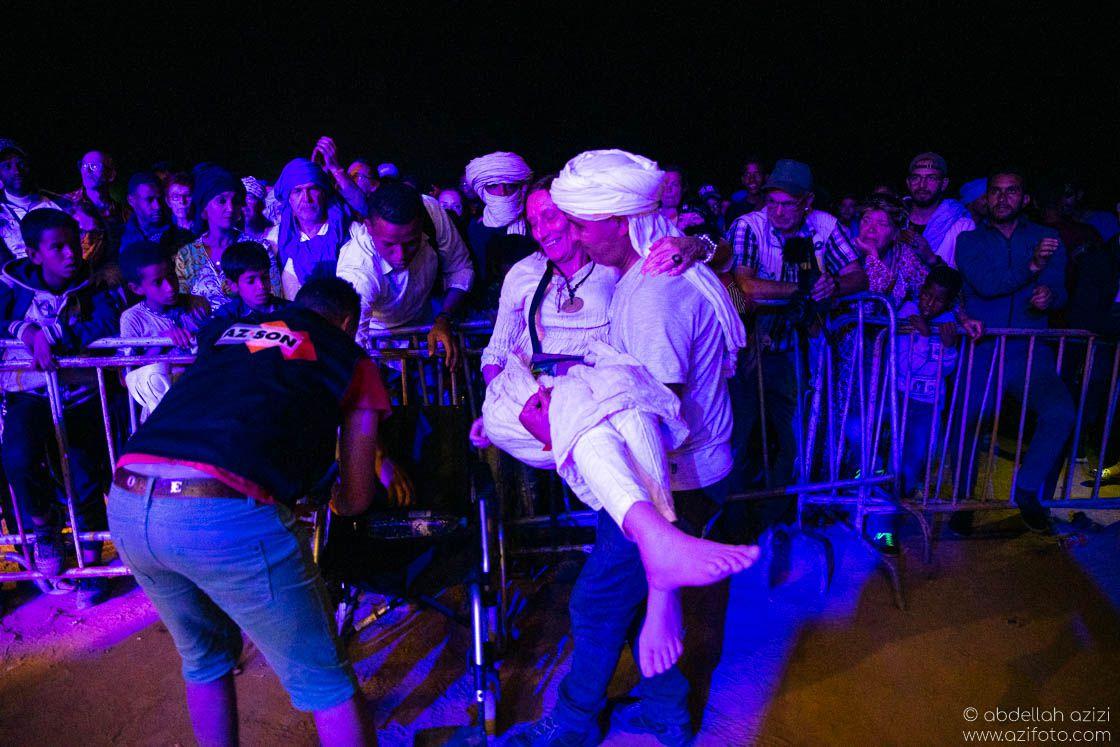 Louizi Taragalte Festival, Mhamid, Morocco