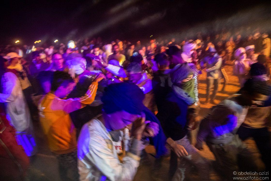 Dancing Taragalte Festival, Mhamid, Morocco