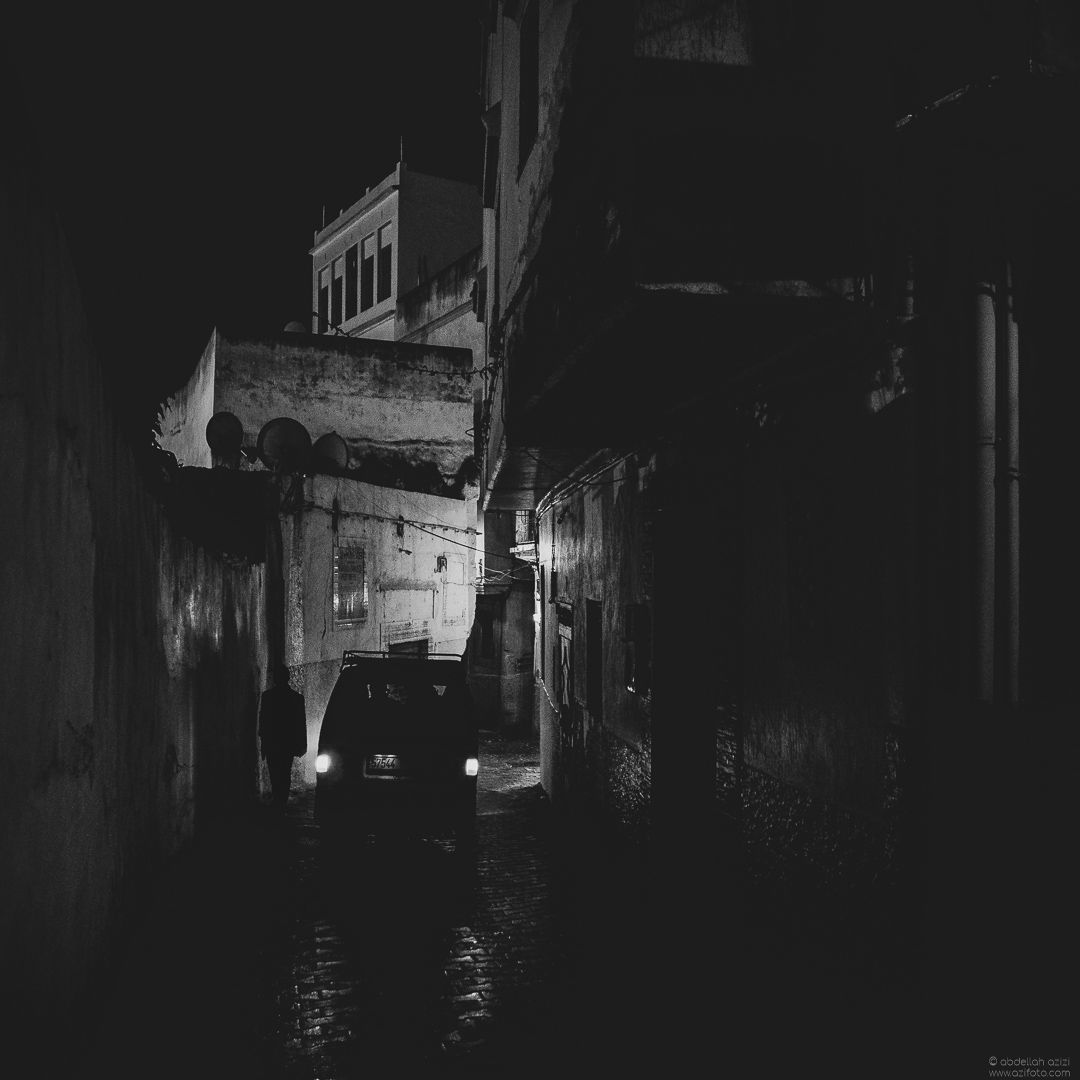 Black and White, Tangier Morocco