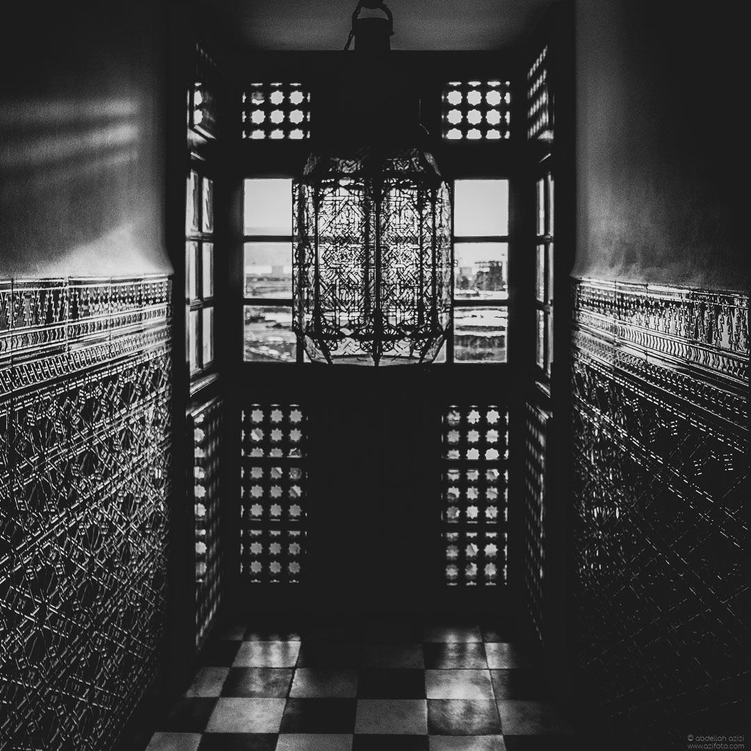 Hotel Black and White, Tangier Morocco