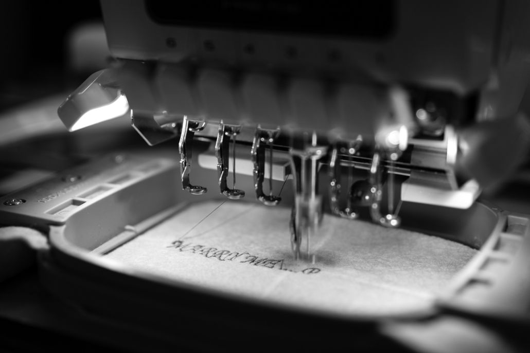 Details tailoring factory