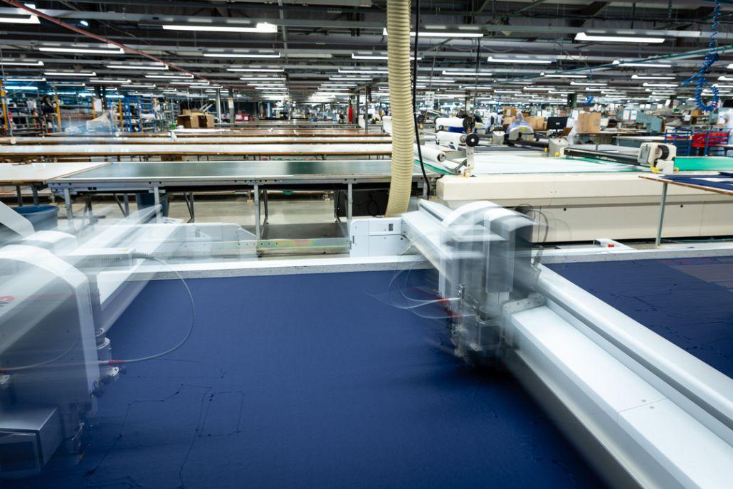 Tailoring factory machine