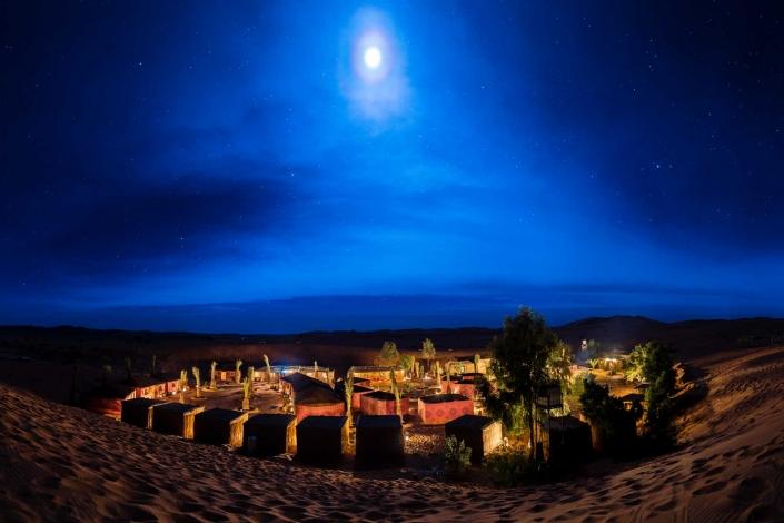 Luxary Camp - Sand dunes Mezouga