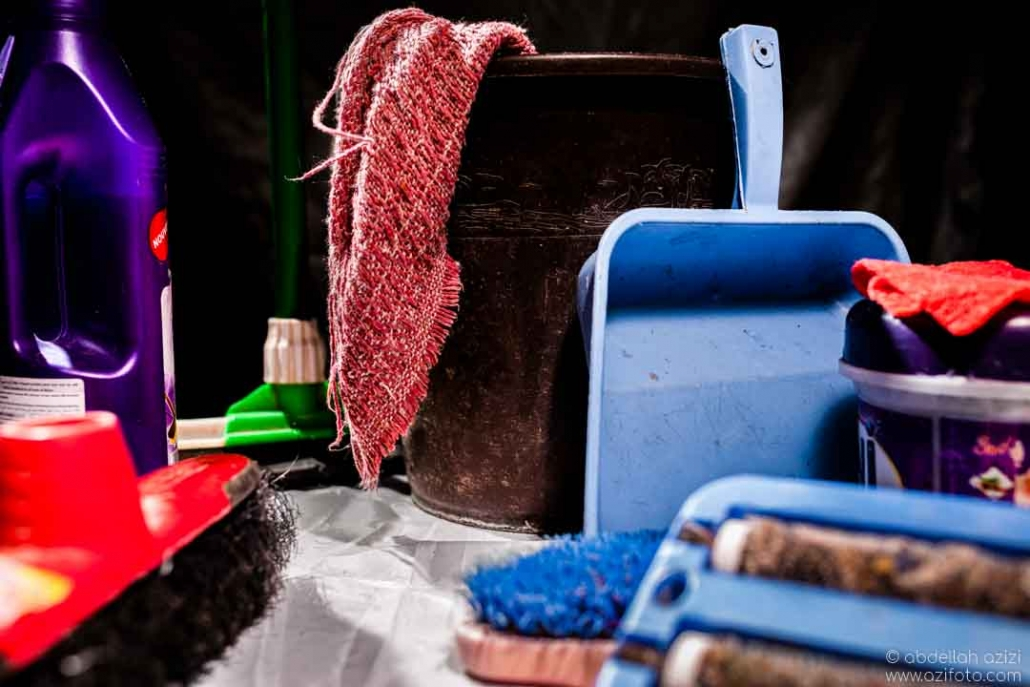 Still life photography - cleaning