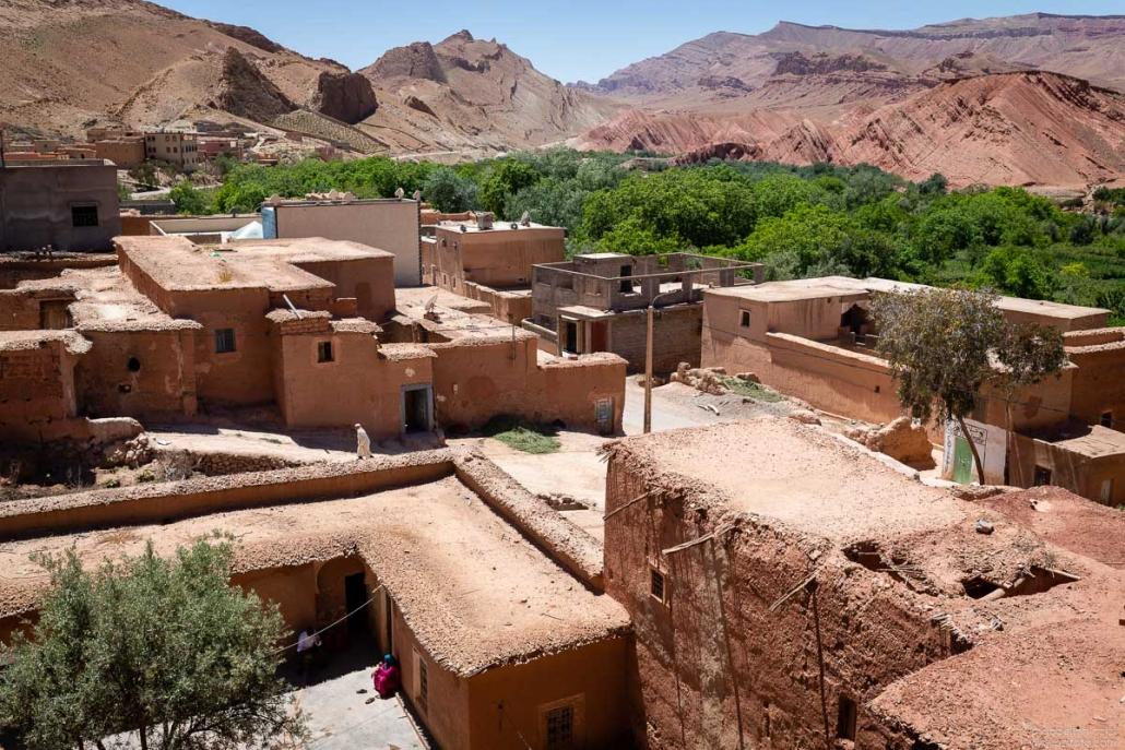Village Rose valley Morocco